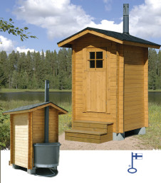 Outhouse (UR) For VU Composting Toilet