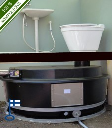 Holiday Home Indoors (VS) composting toilet